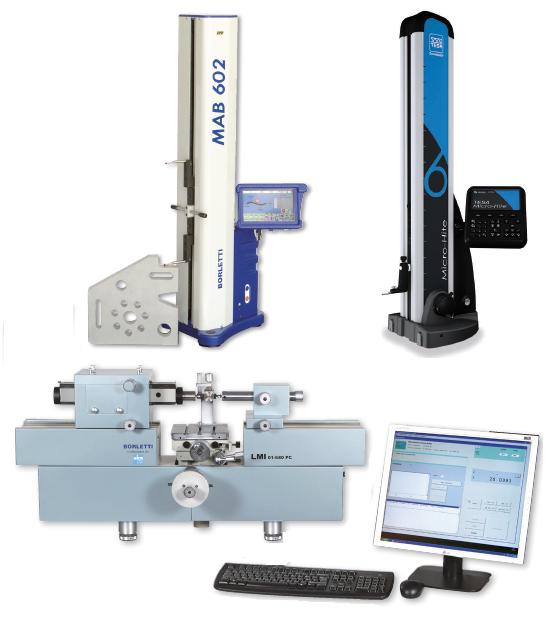1D, 2D, CMM, mérőgépek,vizsgálóberendezések